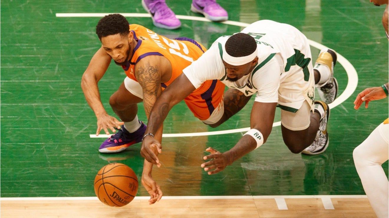 Milwaukee Bucks beat Phoenix Suns 109-103 in Game 4 of NBA ...