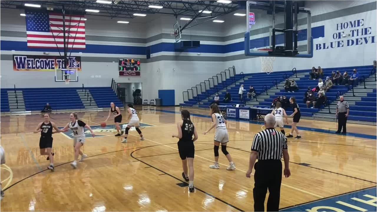 VIDEO: TSSAA high school girls basketball, Brentwood 67, Loretto 57
