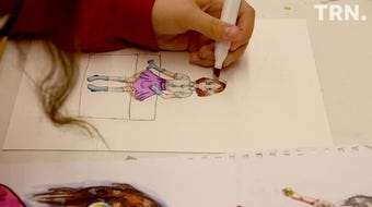 Summer Art Camp at the Kemp Center for the Arts includes an Advanced Anime class for students age 12 and above.