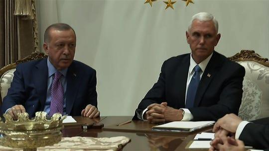 Erdogan says Turkey hasn't 'forgotten' Trump's 'tough guy' letter on Syria invasion
