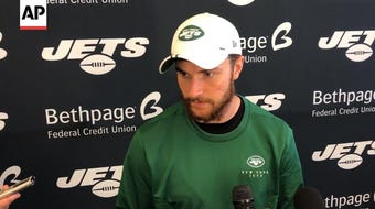 With Sam Darnold and Trevor Siemian both out, Luke Falk moves from the Jet's practice squad to starting quarterback against the New England Patriots (Sept. 20)