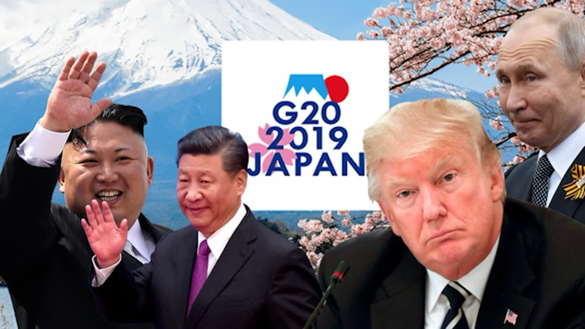 Global tensions and trade issues hit Trump's G-20