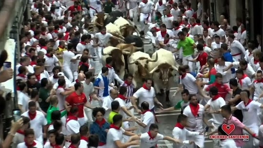 American tries to take selfie with Pamplona bull, turns into near-death experience