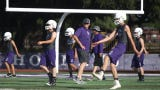 Irion County, which has played 11-man football since the 1976 season, had its first six-man practice in 44 years on Aug. 5, 2019.