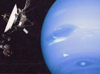 Voyager 2 made its closest approach to Neptune on August 25, 1989, becoming the first (and only) spacecraft to observe the planet up close. The jaw-dropping encounter lifted the curtain on a mysterious world, and marked Voyager 2's final visit with a planetary body before departing the solar system.