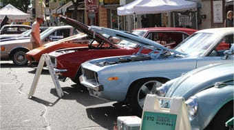There was something for everyone Saturday in downtown Farmington, from old school rides like 1960s-era Chevrolet coupes to motorcycles.