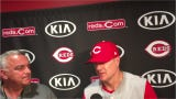 Cincinnati Reds manager David Bell discusses getting swept by the Cleveland Indians.