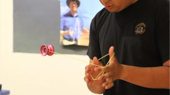 """Yo-Down"" features dazzling yo-yo tricks"