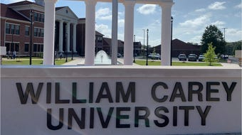 William Carey University held a ribbon cutting and dedication ceremony for Tatum Court on Thursday, July 18, 2019.