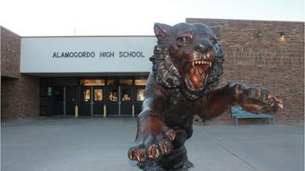 Alamogordo High School is making changes to the campus and cafeteria for 2019-2020 school year.