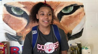 Five questions with Cooper's Jennika Willis, a junior who plays four sports for the Lady Cougars (basketball, softball, track and volleyball).