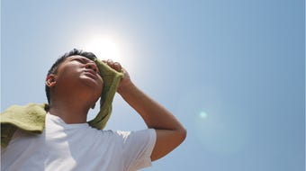 From mildest to most serious, these are the warning signs and recommended precautions to take when watching for heat illness according to the Centers for Disease Control.