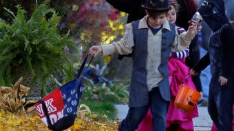 Halloween is on its way. Take a look at the trick or treat times in the Marshfield area.