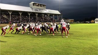 On Friday nights in West Texas, stadiums are lit up with high school football action.