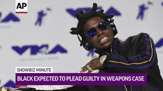 Rapper Kodak Black pleads guilty to weapons charges, could face up to 20 years in prison