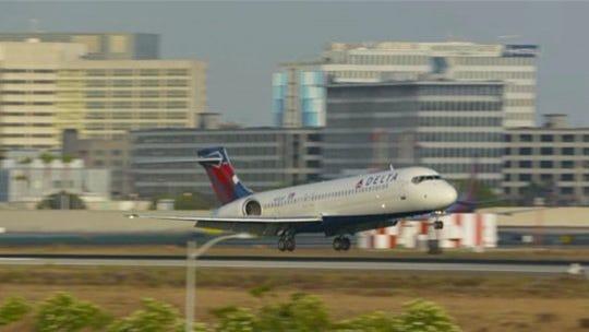 Delta flight from Detroit to South Korea makes emergency landing in Alaska