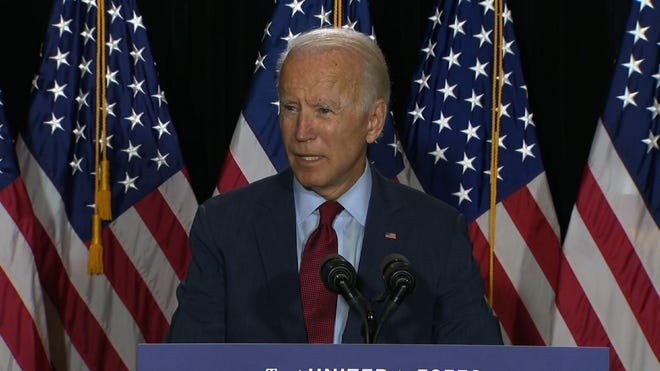 Fact Check Biden Rally Photo Without Masks Is From Early March
