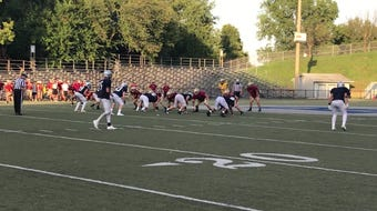 Highlights from the Reitz vs Mater Dei football scrimmage at the Reitz Bowl