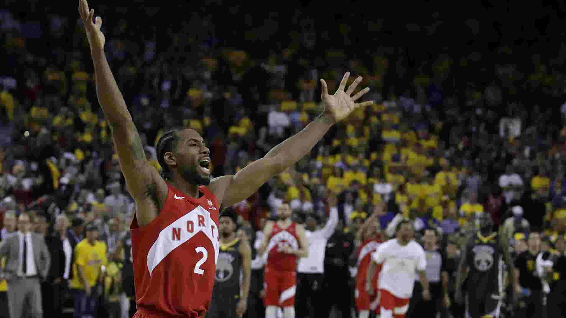 44eb3b7f37 2019 NBA Finals: Toronto Raptors hold off Golden State in game 6 ...