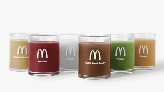McDonald's made scented candles that smell like a Quarter Pounder