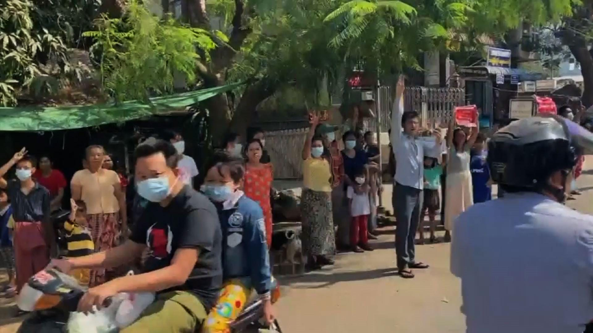 Myanmar protesters resist military coup leaders thumbnail