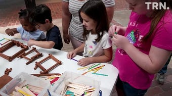 The Museum of North Texas History presented a Summer Kids Program at the Downtown Wichita Falls Farmers Market Tuesday.