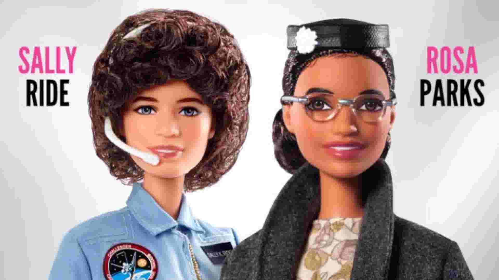 Barbie Unveils Dolls Inspired By Rosa Parks And Sally Ride