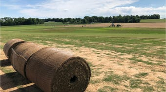 GrassMasters in Patoka, Indiana, supplies sod for the Bengals, Colts and Titans.