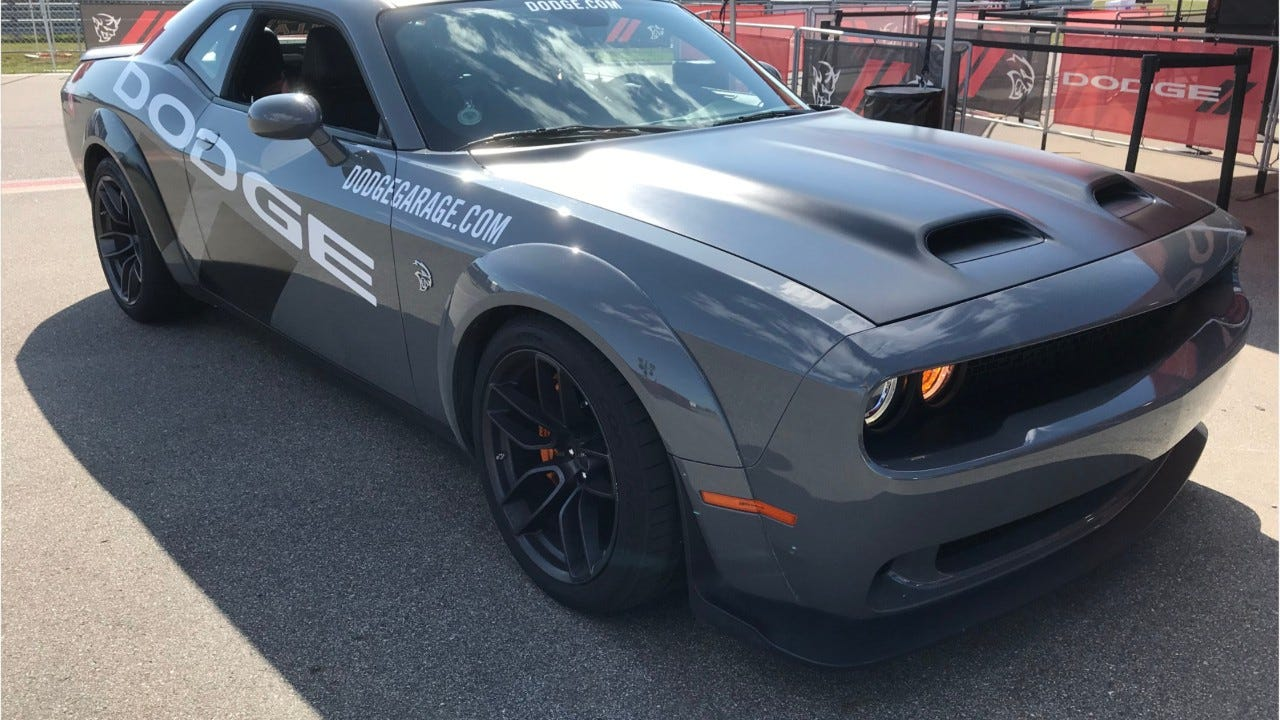 Dodge Thrill Ride in a 717-horsepower Dodge Challenger SRT Hellcat