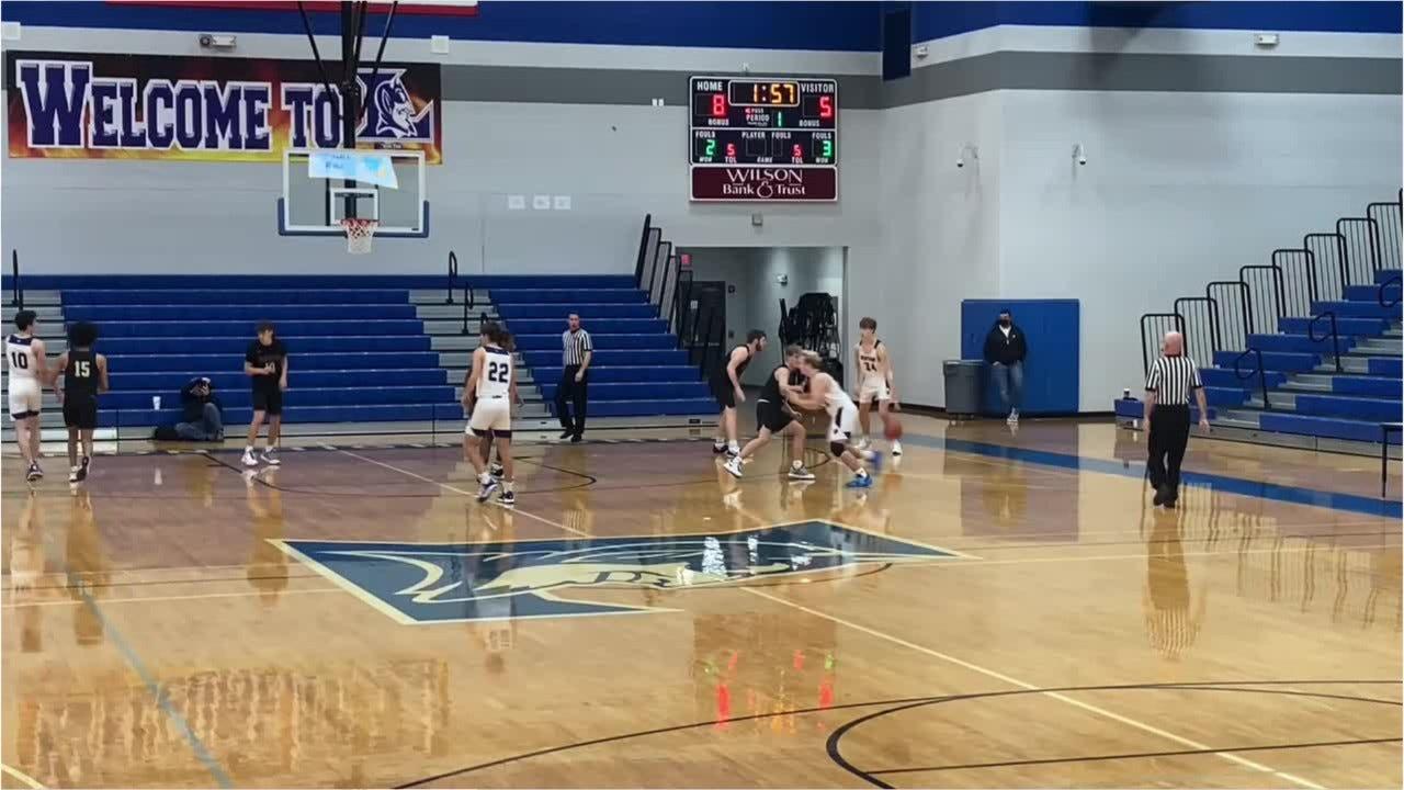 VIDEO: TSSAA high school boys basketball, Brentwood 62, Loretto 29