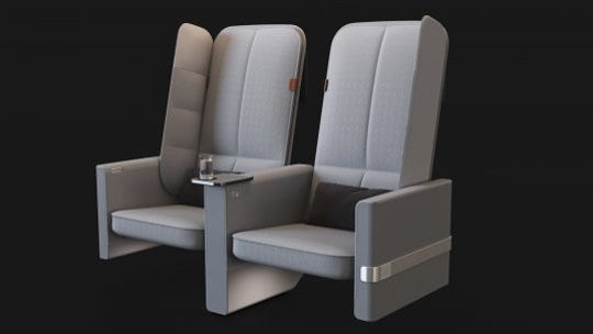 Find it hard to sleep on planes? This new design for economy seating aims to change that