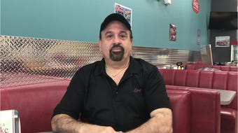 Owner Mark Poulos talks about Sugar Shack's new location