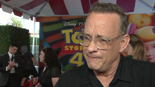 Tom Hanks makes waves on his 63rd birthday with eye-catching video