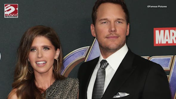 "Chris Pratt sarcastically praised Katherine Schwarzenegger for her burnt cooking, and urged his wife to channel Rocky Balboa and ""keep moving forward"""