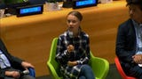 """Young people are an """"unstoppable"""" force in pressuring world leaders to act on climate change, teenage activist Greta Thunberg told a United Nations panel on Saturday. (Sept. 21)"""