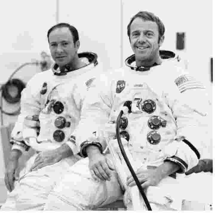 Image result for Shepard and Mitchell landed on the moon on Feb. 5