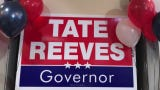 Tate Reeves primary election party at Table 100