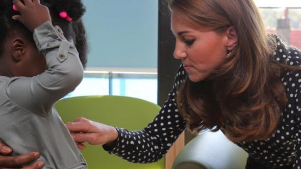 Buzz60's Elizabeth Keatinge tells us about a surprise appearance Duchess Kate made at the Family Nurse Partnership.