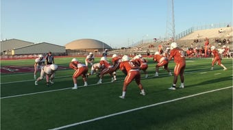 Beeville scrimmaged against Calallen to start head coach Chris Soza's return season with the Trojans