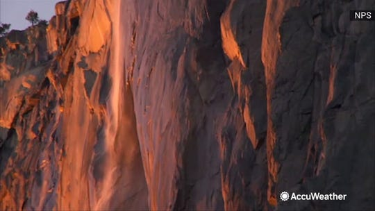 Yosemite's famous glowing orange 'firefall' could be a bust this year