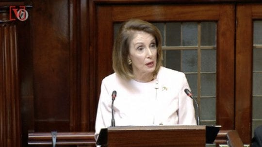 AG Barr to Pelosi: 'Madam Speaker, Did You Bring Your Handcuffs?'