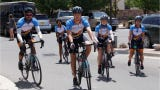 Twenty-eight cyclists, who departed from Farmington on Thursday, are riding from Austin, Texas to Anchorage to honor those affected by cancer.