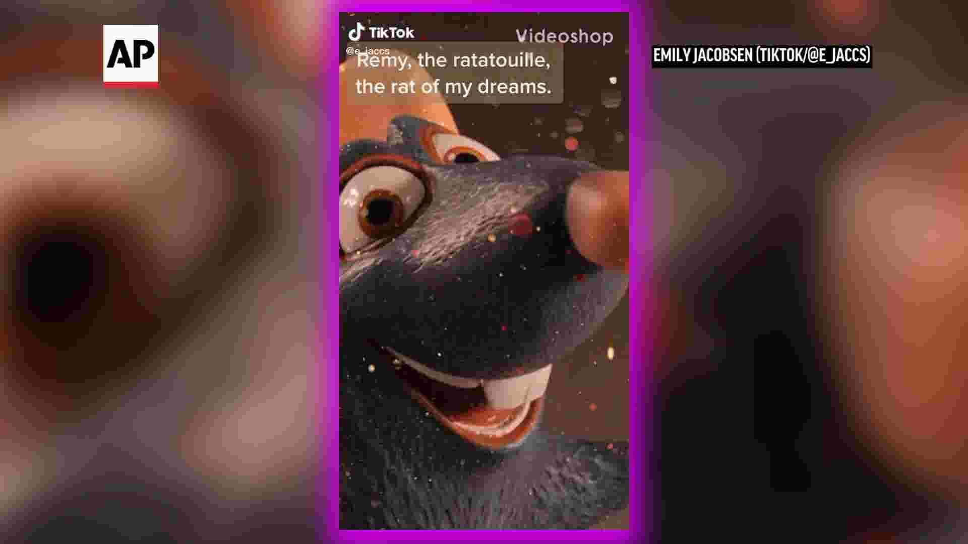 TikTok users create viral 'Ratatouille' musical