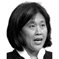 Portrait of Katherine Tai