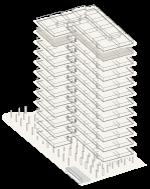 Map of building highlighting floor 11
