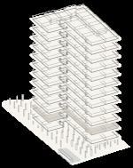 Map of building highlighting floor 2