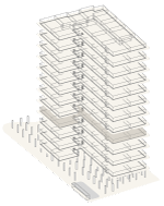 Map of building highlighting floor 4