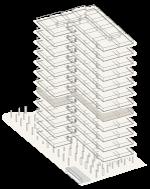 Map of building highlighting floor 5