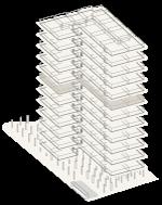 Map of building highlighting floor 7