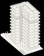 Map of building highlighting floor 9